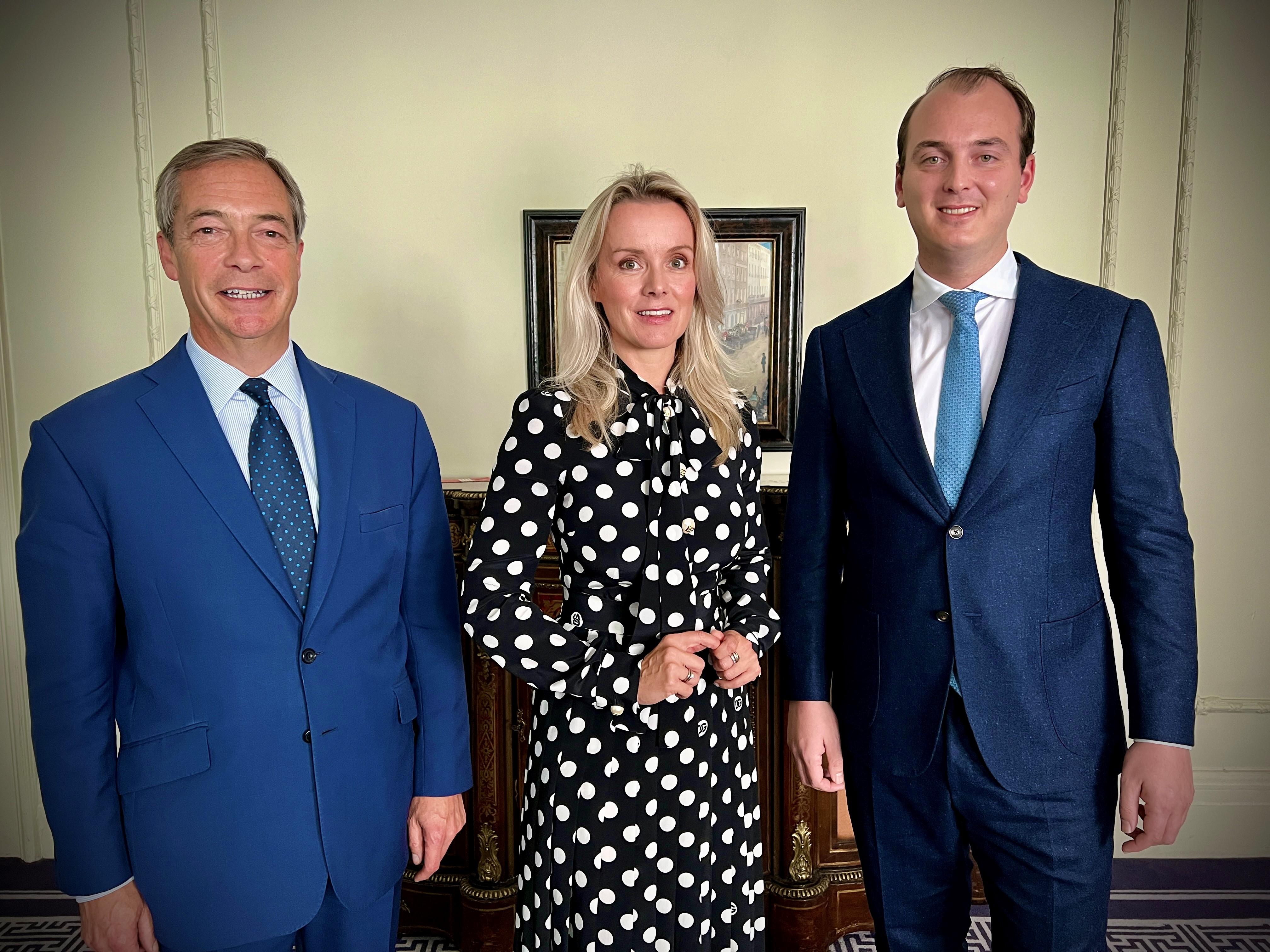 DGB Group, Nigel Farage